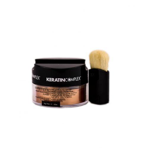 Sparkle + Shine Keratin Highlighting Powder - Bronze